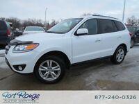 2012 Hyundai Santa Fe LIMITED AWD - NAV/DVD/SUNROOF/LTHR