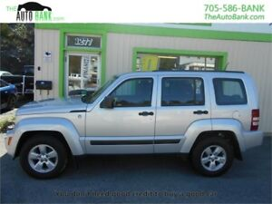 2012 Jeep Liberty Sport 4X4 V6| 99% APPROVAL RATE!