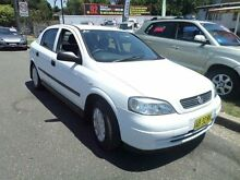 2005 Holden Astra TS Classic White 4 Speed Automatic Hatchback Sylvania Sutherland Area Preview