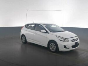 2017 Hyundai Accent RB4 MY17 Active Crystal White 6 Speed CVT Auto Sequential Hatchback Geebung Brisbane North East Preview