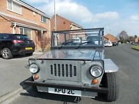 beach buggy moke road tax free classic