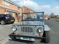beach buggy moke road tax free classic jeep