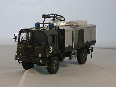 tek hoby 1 50 camion pompier militaire saurer 6 dm 4x4. Black Bedroom Furniture Sets. Home Design Ideas