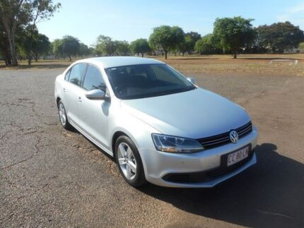 2011 Volkswagen Jetta 1KM MY10 147TSI DSG Highline Silver 6 Speed Sports Automatic Dual Clutch Sedan