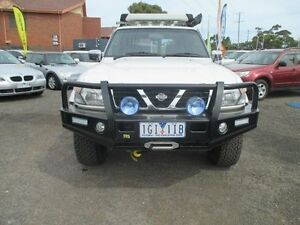 1998 Nissan Patrol GU ST (4x4) White 4 Speed Automatic 4x4 Wagon Hoppers Crossing Wyndham Area Preview