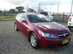 2009 Holden Commodore MY10 VE Omega Sport Wagon 3.0 V6 Auto Tidy Car Orange Orange Area Preview