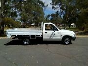 2004 Toyota Hilux RZN149R Workmate White 5 Speed Manual Cab Chassis Hillcrest Port Adelaide Area Preview