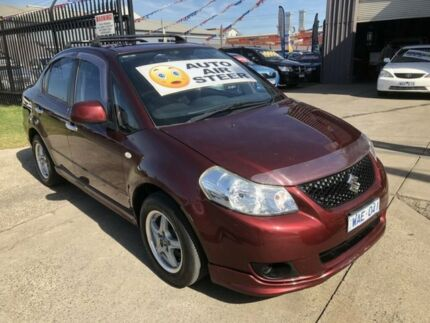 2008 Suzuki SX4 GY Maroon 4 Speed Automatic Sedan Brooklyn Brimbank Area Preview