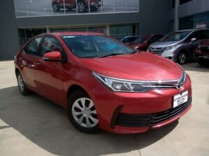 2018 Toyota Corolla ZRE172R Ascent S-CVT Red 7 Speed Constant Variable Sedan Ravenhall Melton Area Preview
