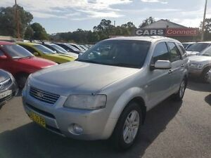 2005 Ford Territory SX Ghia (4x4) Silver 4 Speed Auto Seq Sportshift Wagon Edgeworth Lake Macquarie Area Preview