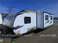 **CLEARANCE! **SLEEPS 9! **LEATHER! **TRAVEL TRAILER FOR SALE!