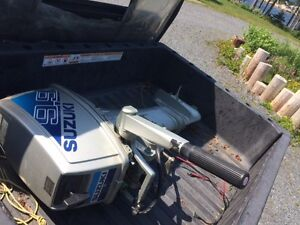 9.9 Electric Start Suzuki LONG Shaft Outboard Motor For Sale