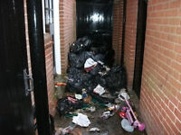 Local Rubbish Removal and Waste Clearance cheaper than a skip & same day service eve and wknds