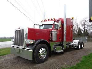 "2013 PETERBILT 389, SUPER 40000 REARS, 270"" WHEEL BASE"