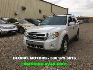 2009 FORD ESCAPE LIMITED - LEATHER- AWD -V6 -FINANCING AVAILABLE