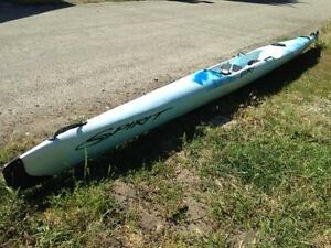 Spirit Fury Plastic Surfski