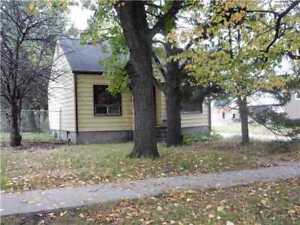 Fort Garry two bed  bungalow on a 50' x 100' lot