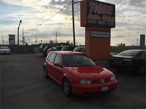 2000 Volkswagen Golf ***MANUAL***SUNROOF***ONLY 170 KMS***