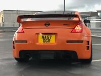 "NISSAN 350Z GT 2007 -NISMO SPEC - RARE ORANGE (FACTORY COLOUR) 20"" GTR WHEELS"