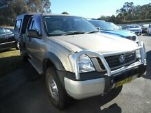 2003 Holden Rodeo RA LX (4x4) Beige 5 Speed Manual Spacecab Edgeworth Lake Macquarie Area Preview