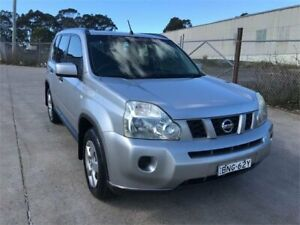 2010 Nissan X-Trail T31 MY10 ST (4x4) Silver 6 Speed Manual Wagon Chester Hill Bankstown Area Preview