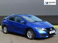 2016 Honda Civic I-VTEC S Petrol blue Manual