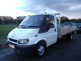 FORD TRANSIT 350 LWB, White, Manual, Diesel, 2006