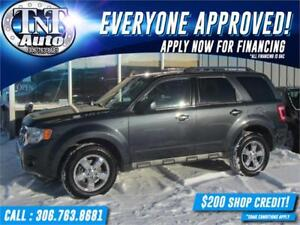 2008 Ford Escape Limited 4X4 V6! APPLY NOW! UR APPROVED!