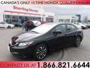 2015 Honda Civic EX | 1 OWNER | ACCIDENT FREE