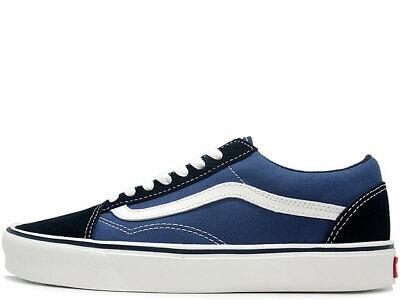 Vans - OLD SKOOL LITE Mens Shoes (NEW) UltraCush NAVY BLUE & WHITE Free Shipping
