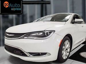 2015 Chrysler 200 200C with leather heated seats, NAV, sunroof,