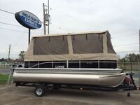 "Model Year End Clearout! ""2014"" SS 210 Pontoon w/FULL ENCLOSURE"