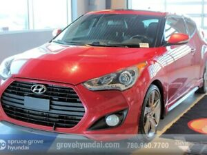 2013 Hyundai Veloster TURBO: NAVIGATION, PANORAMIC ROOF, LEATHER