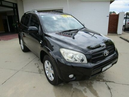 2006 Toyota RAV4 ACA33R Cruiser Black 5 Speed Manual Wagon Macksville Nambucca Area Preview