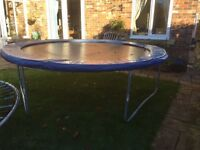 Bargain: a 12 ft and 8 ft trampoline