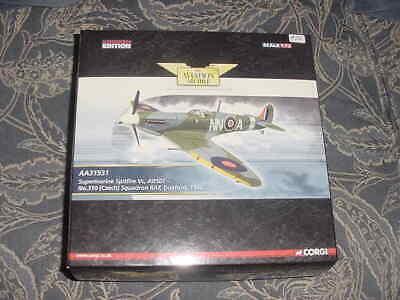 "2008 Corgi Diecast Aircraft Model ""Supermarine Spitfire Vc"",1942  1:72 Scal MIB"