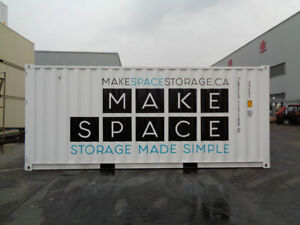 SHIPPING CONTAINER RENTALS - 1 MONTH FOR $1!!