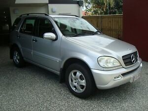 2003 Mercedes-Benz ML350 W163 Silver 5 Speed Automatic Wagon Kedron Brisbane North East Preview