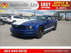 2007 Ford Mustang LOW KM MANUAL LOW KM Everyone approved