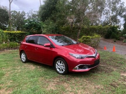 2018 Toyota Corolla ZRE182R Ascent Sport S-CVT Red 7 Speed Constant Variable Hatchback Capalaba Brisbane South East Preview
