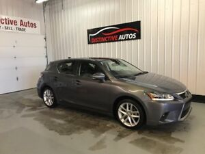 2016 Lexus CT 200h HYBRID LEATHER NAVIGATION B.CAM LIKE NEW