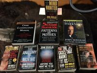 Collection of True Crime Novels by John E. Douglas