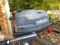yamaha 25p and 4hp for sale