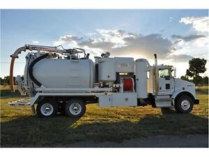 Keith Huber King Vac Liquid Ring Industrial Vacuum Truck