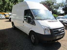 2014 Ford Transit 2.2TDCi NO VAT 350 LWB 90000 MILES HI ROOF