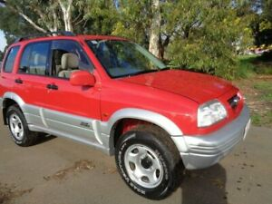 1998 Suzuki Grand Vitara Red Manual Wagon Mile End South West Torrens Area Preview