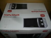 Morphy Richards MM820CXN 20L 800W Solo Microwave - Silver ex display free local (wigan) delivery