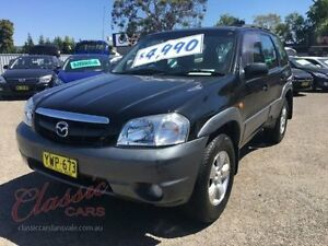 2003 Mazda Tribute Classic Black 4 Speed Automatic 4x4 Wagon Lansvale Liverpool Area Preview