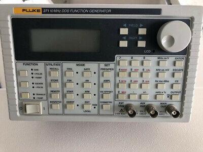 Fluke 271 10 Mhz Dds Function Generator Barely Used