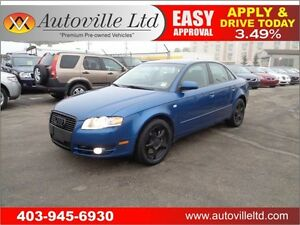 2007 Audi A4 2.0T AUTO LOW KM EVERYONE APPROVED!